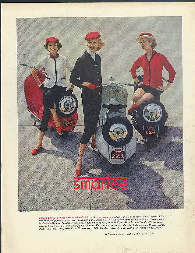 Little trips that make the daily round Swallow Gadabout Motorscooter ad 1948