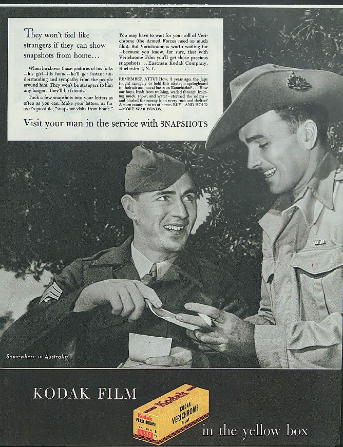 Somewhere in Australia Kodak Snapshots from home ad 1945 servicemen