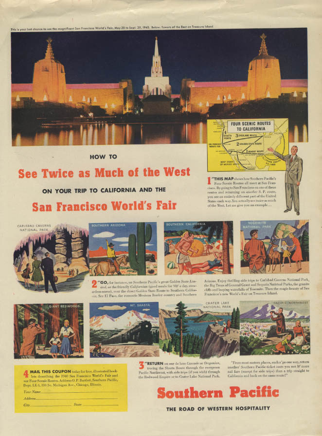 Image for San Francisco World's Fair / Hoover Vacuum Cleaner & puppy ad 1940