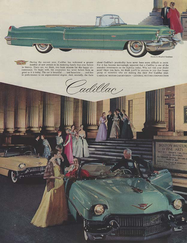 A greater number of new owners - Cadillac Convertible ad 1956 P