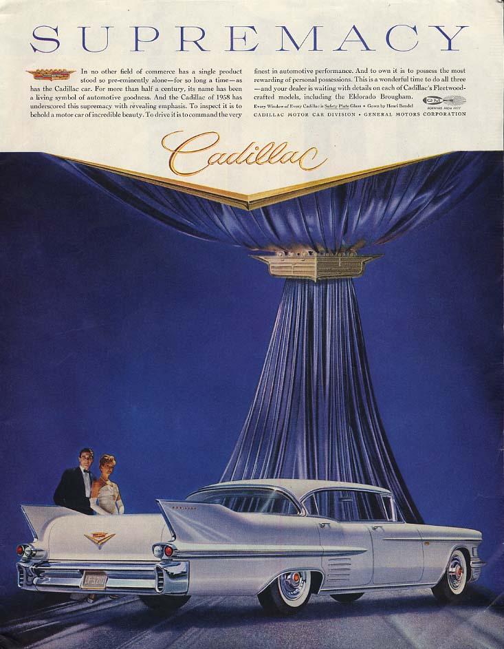 Image for Herbert Bayer Kaleidoscreen Alcoa Aluminum / Cadillac 4-door HT ad 1958