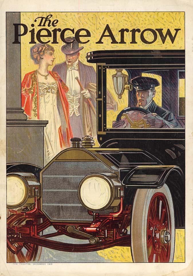 The Pierce-Arrow Limoisine ad 1909 by Edward Penfield CL