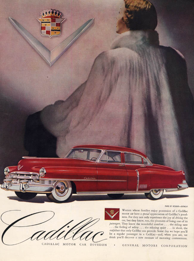Image for Women whose families enjoy possession of a Cadillac ad 1950 HBZ