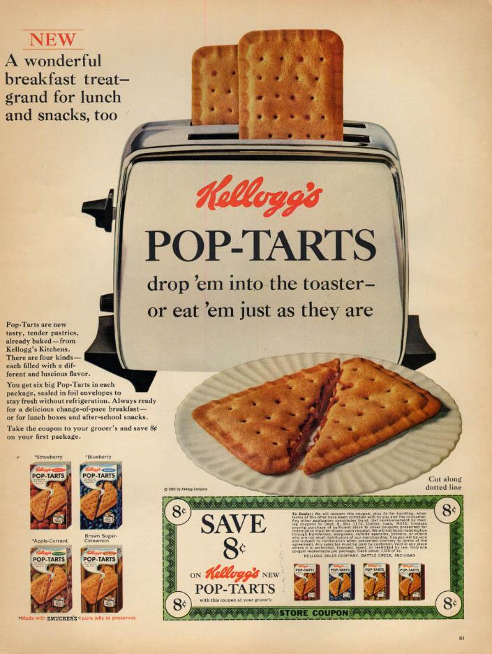 Image for Wonderful new breakfast treat Kellogg's Pop-Tarts ad 1965 L