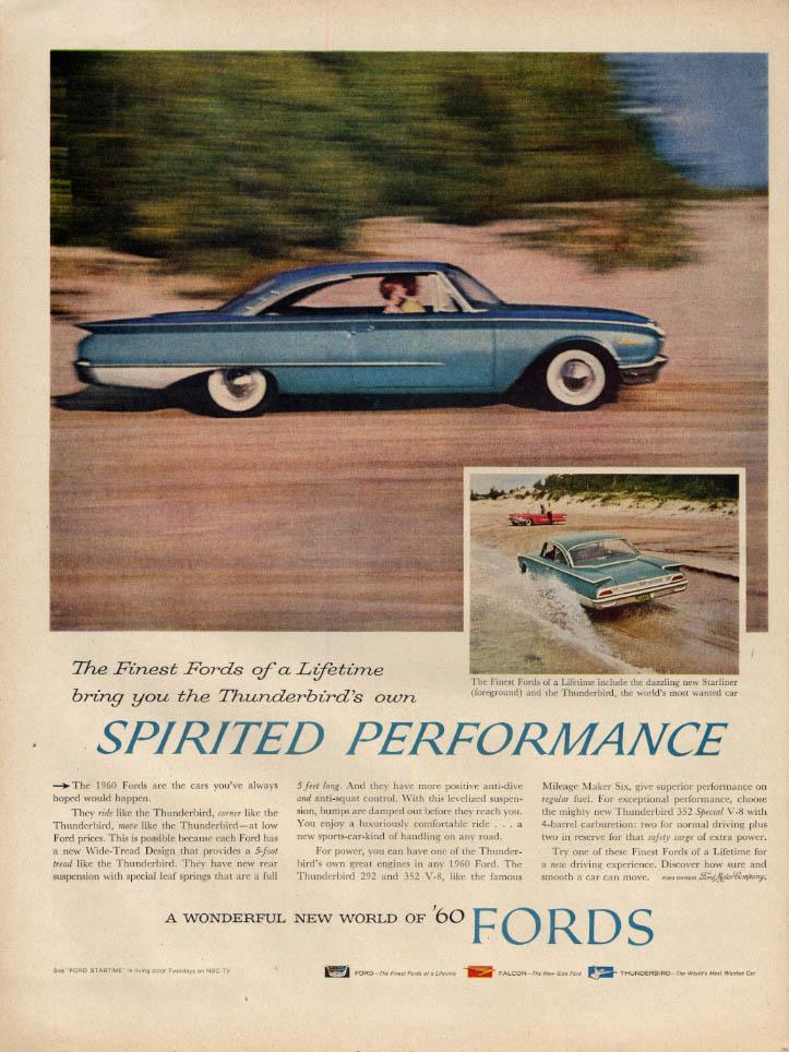 Image for Spirited Performance - Ford Starliner 2-door hardtop ad 1960 L