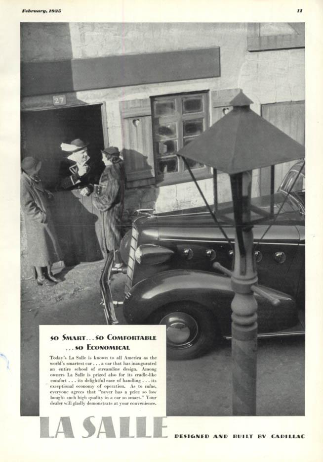 Image for So Smart So Comfortable So Economical - La Salle ad 1935 ESQ