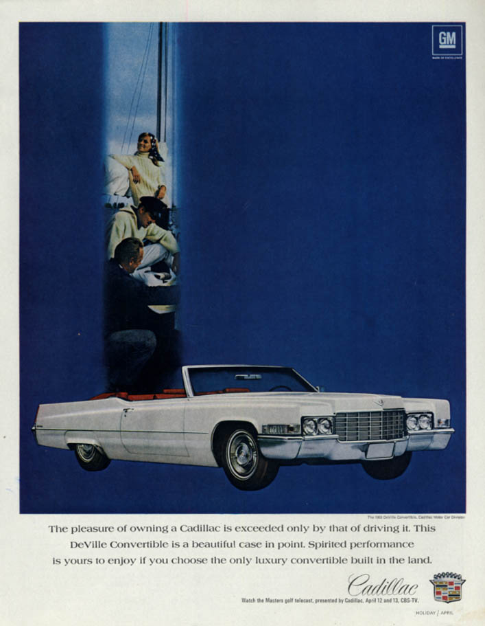 Image for The pleasure of owning exceeded only by driving Cadillac Convertible 1969 H
