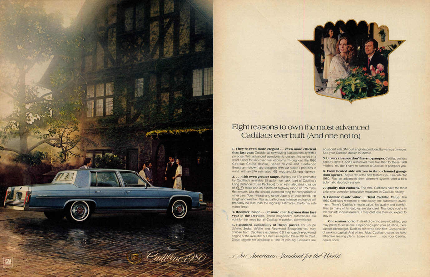 8 reasons to own the most advanced Cadillac Fleetwood Brougham ever built 1980 E