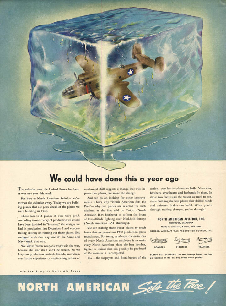 Image for We could have done this a year ago North American B-25 ad 1942 L