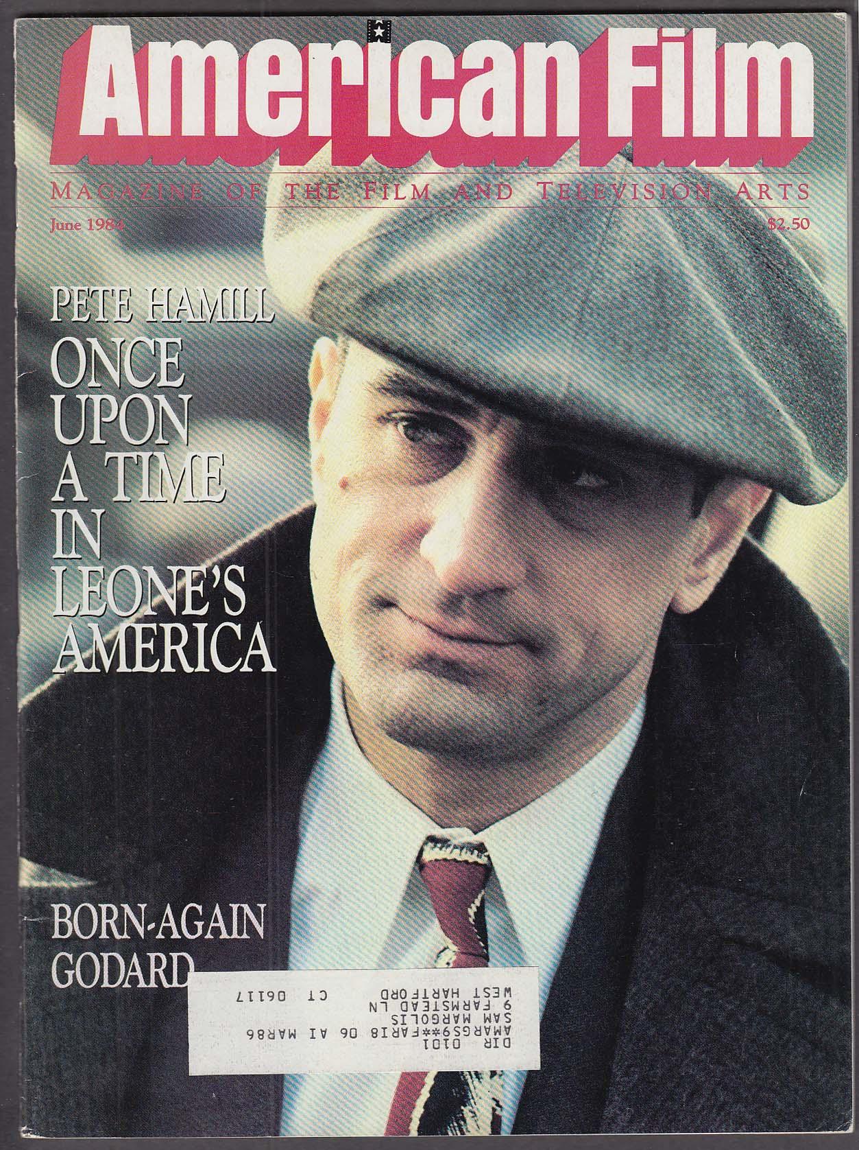 Image for AMERICAN FILM Robert DeNiro Jean-Luc Godard Sergio Leone ++ 6 1984