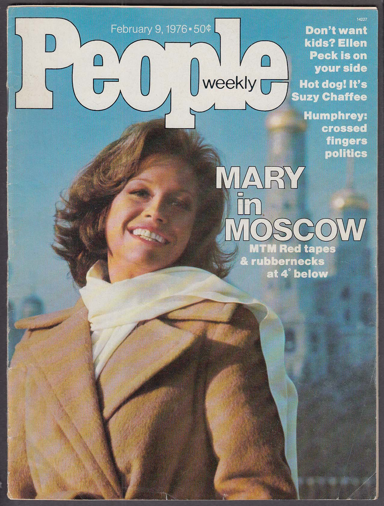 Image for PEOPLE Mary Tyler Moore in Moscow; Suzy Chaffee 2/9 1976