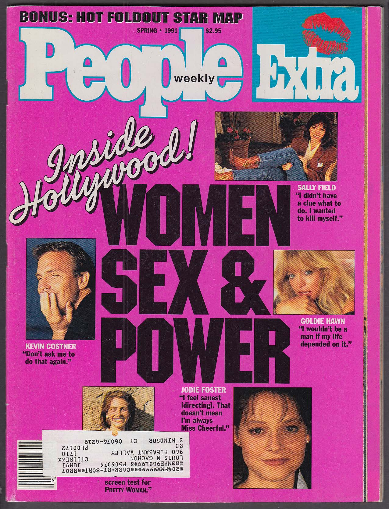 Image for PEOPLE EXTRA Goldie Hawn Jodie Foster Julia Roberts Sally Field + Spring 1991