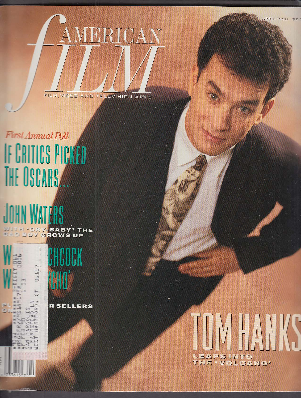 Image for AMERICAN FILM Tom Hanks John Waters Hitchcock 4 1990