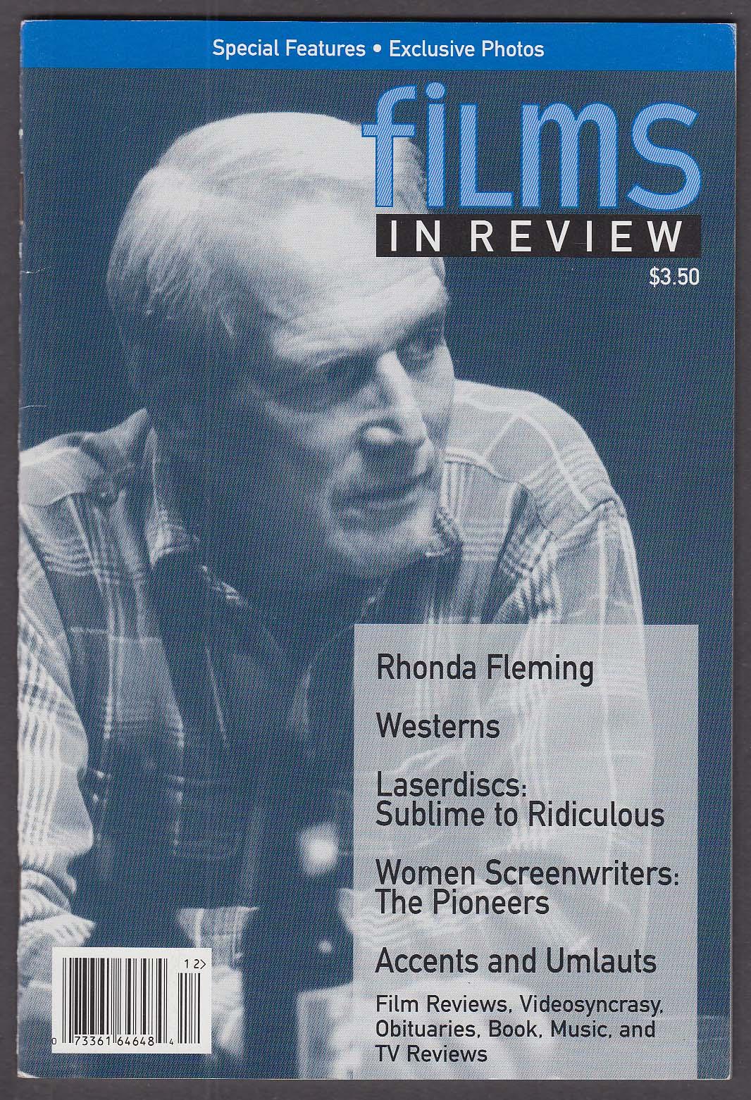 Image for FILMS IN REVIEW Paul Newman Rhonda Fleming 11-12 1994