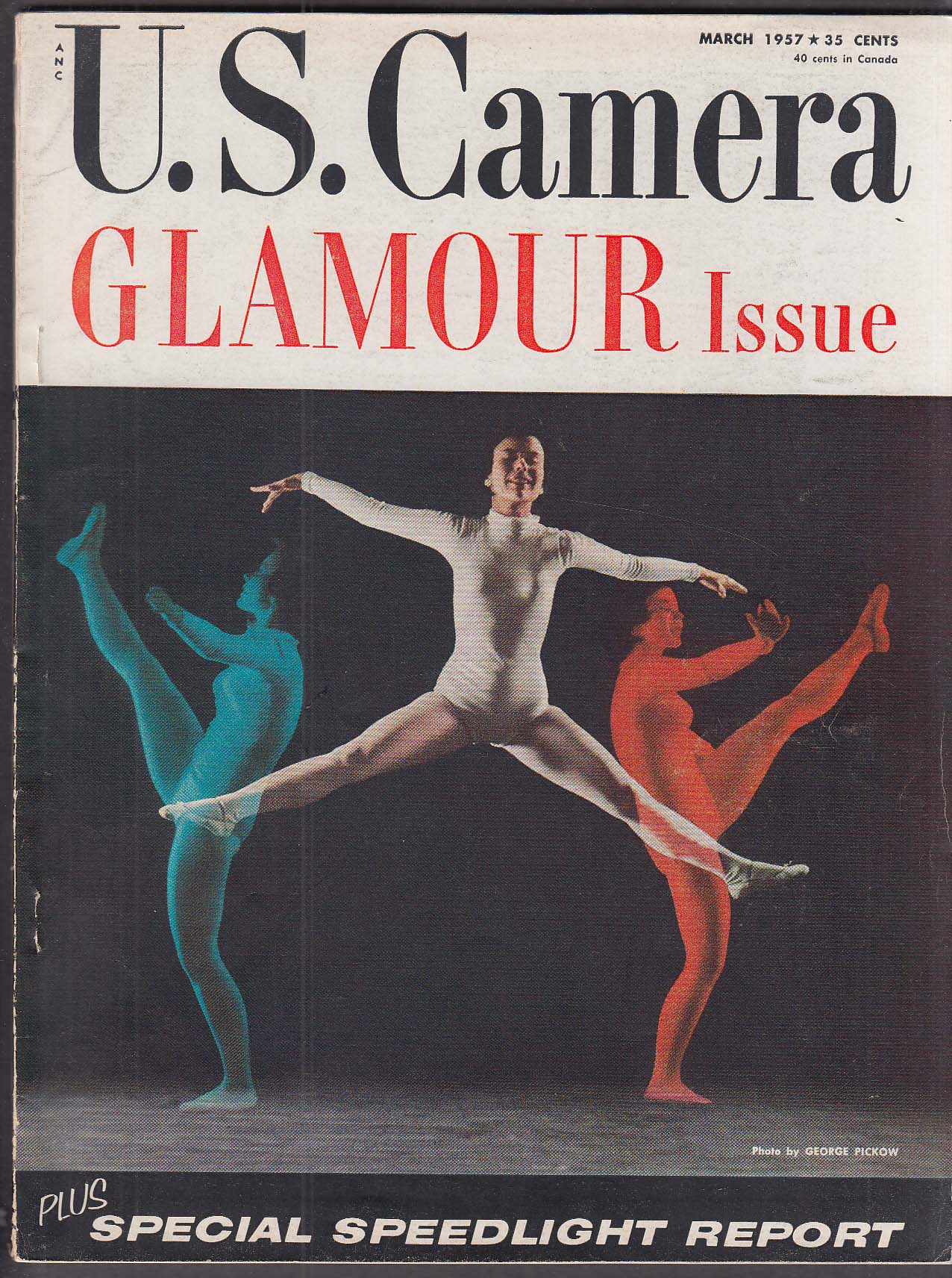 Image for US CAMERA Glamour Issue photography 3 1957