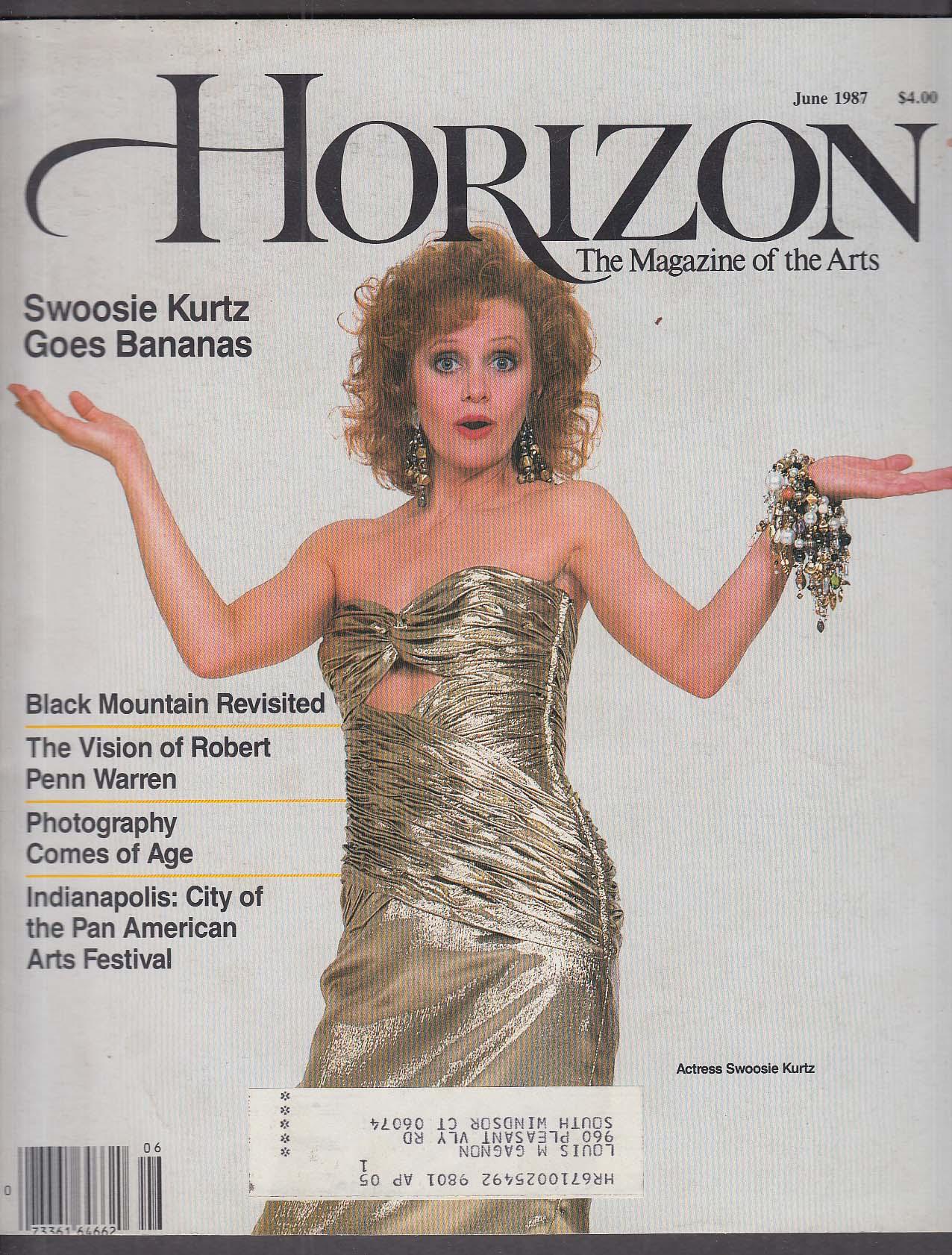HORIZON Swoosie Kurtz Robert Penn Warren 6 1987