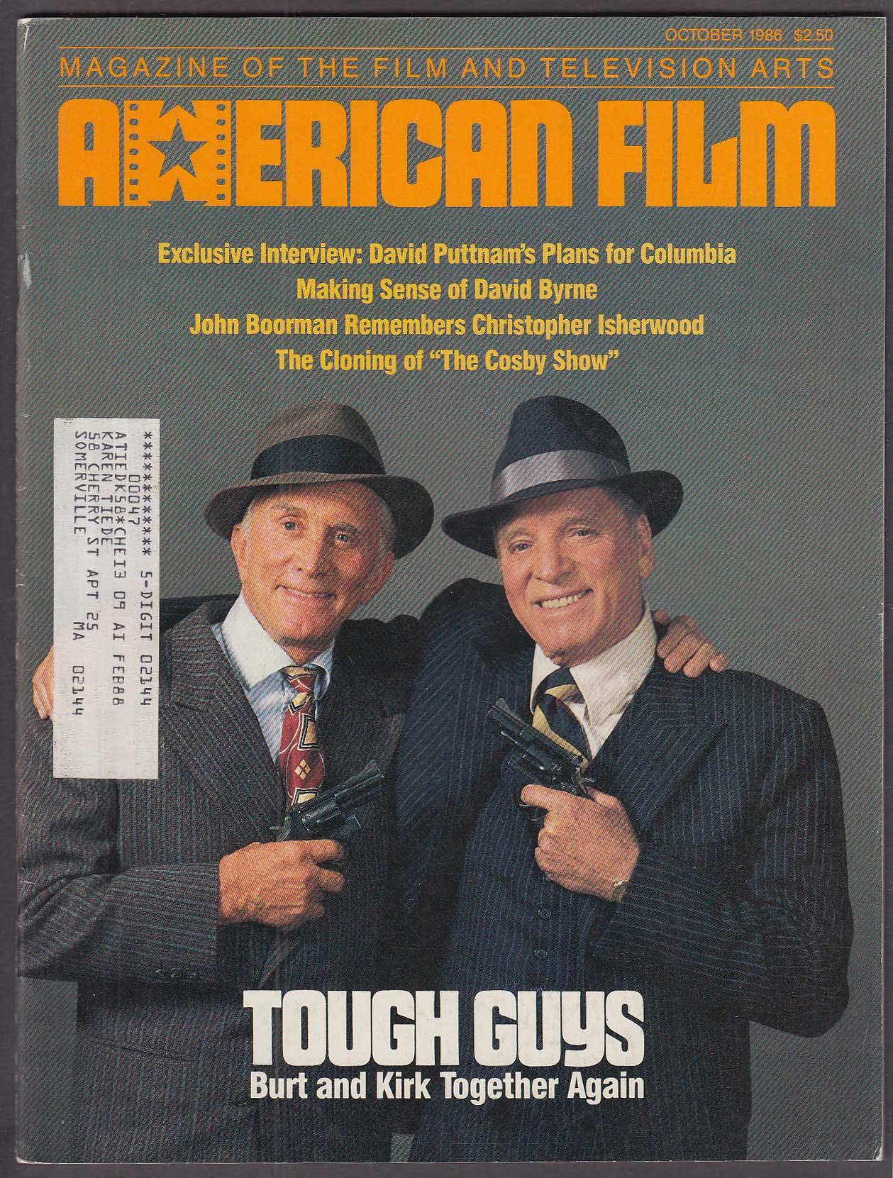 Image for AMERICAN FILM Kirk Douglas Burt Lancaster David Puttnam Jim Jarmusch ++ 10 1986