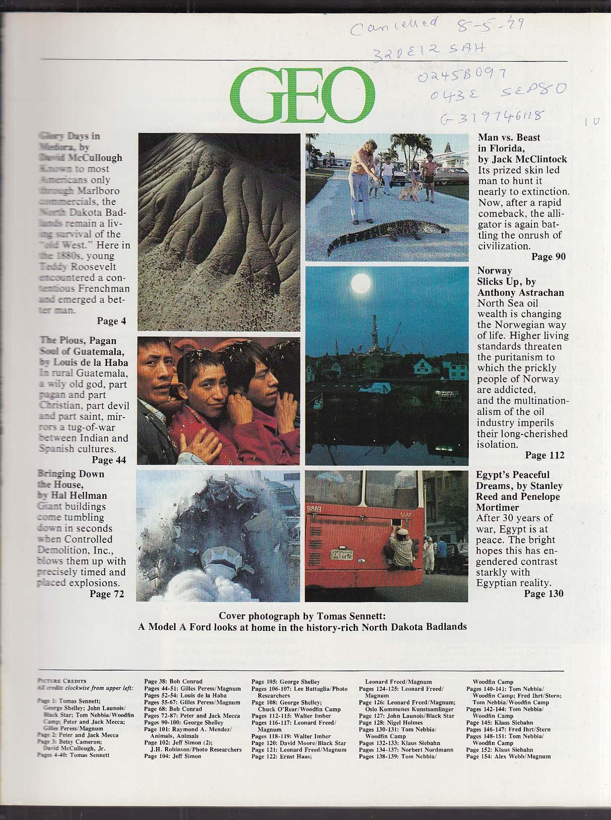 Image for GEO #6 Badlands, Alligators 10 1979