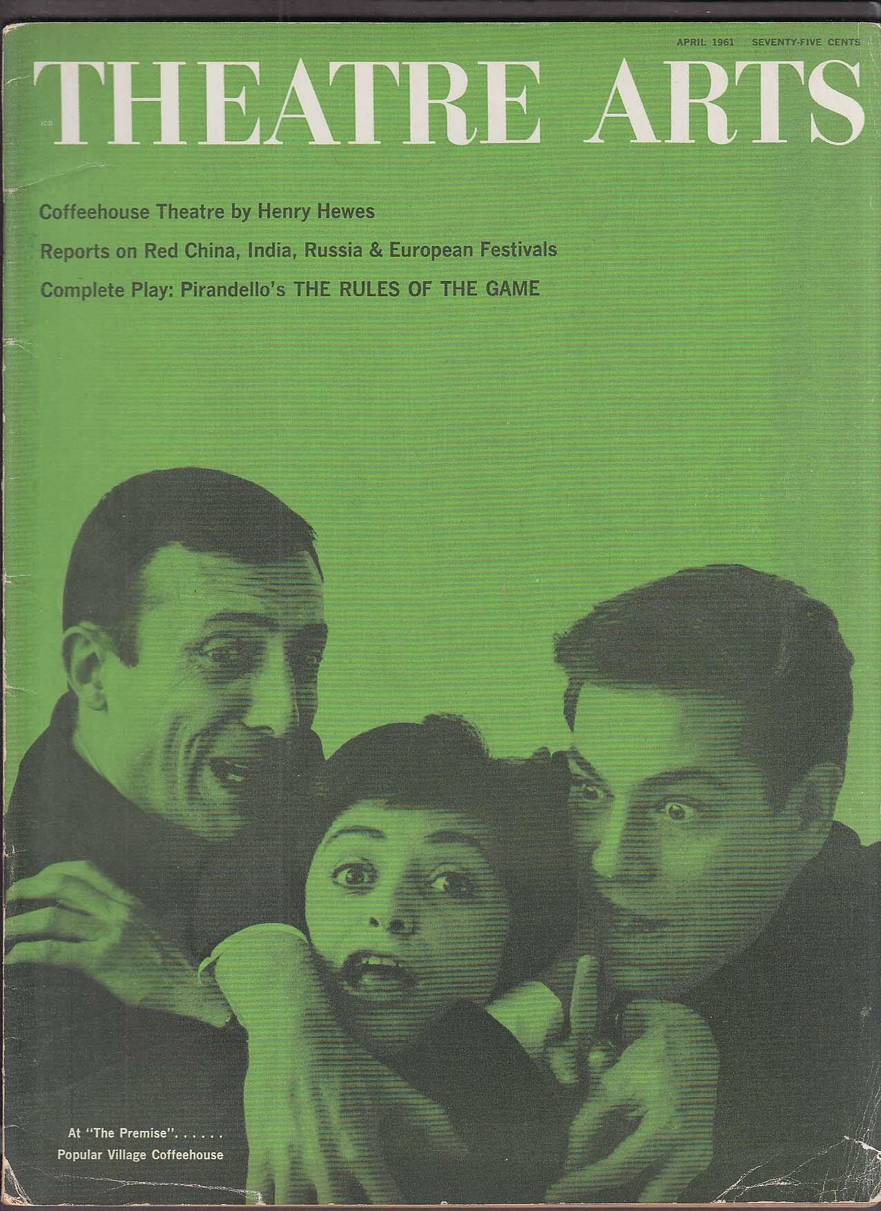 Image for THEATRE ARTS Pirandello Joan Darling George Segal ++ 4 1961
