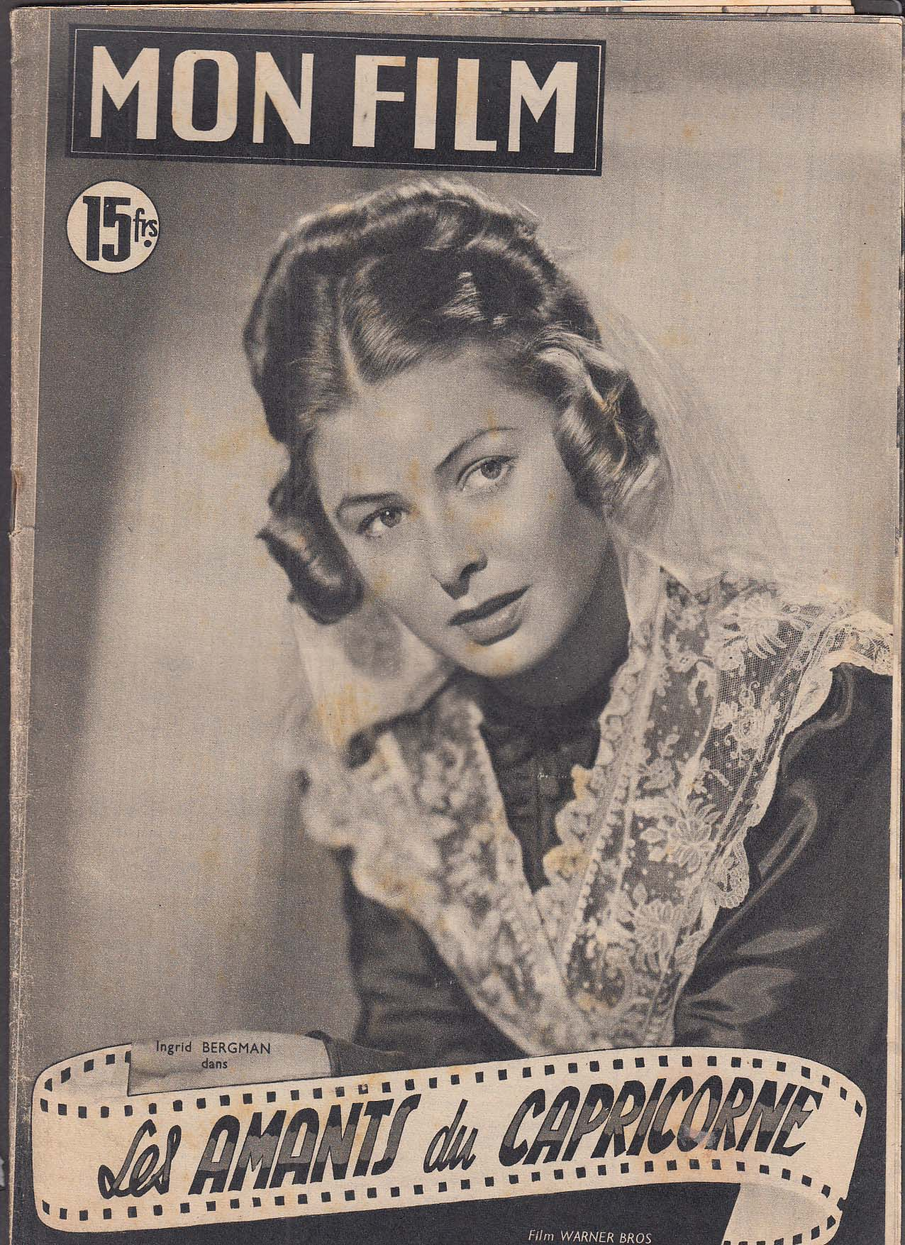 Image for MON FILM Ingrid Bergman Under Capricorn Joseph Cotten 12 1950