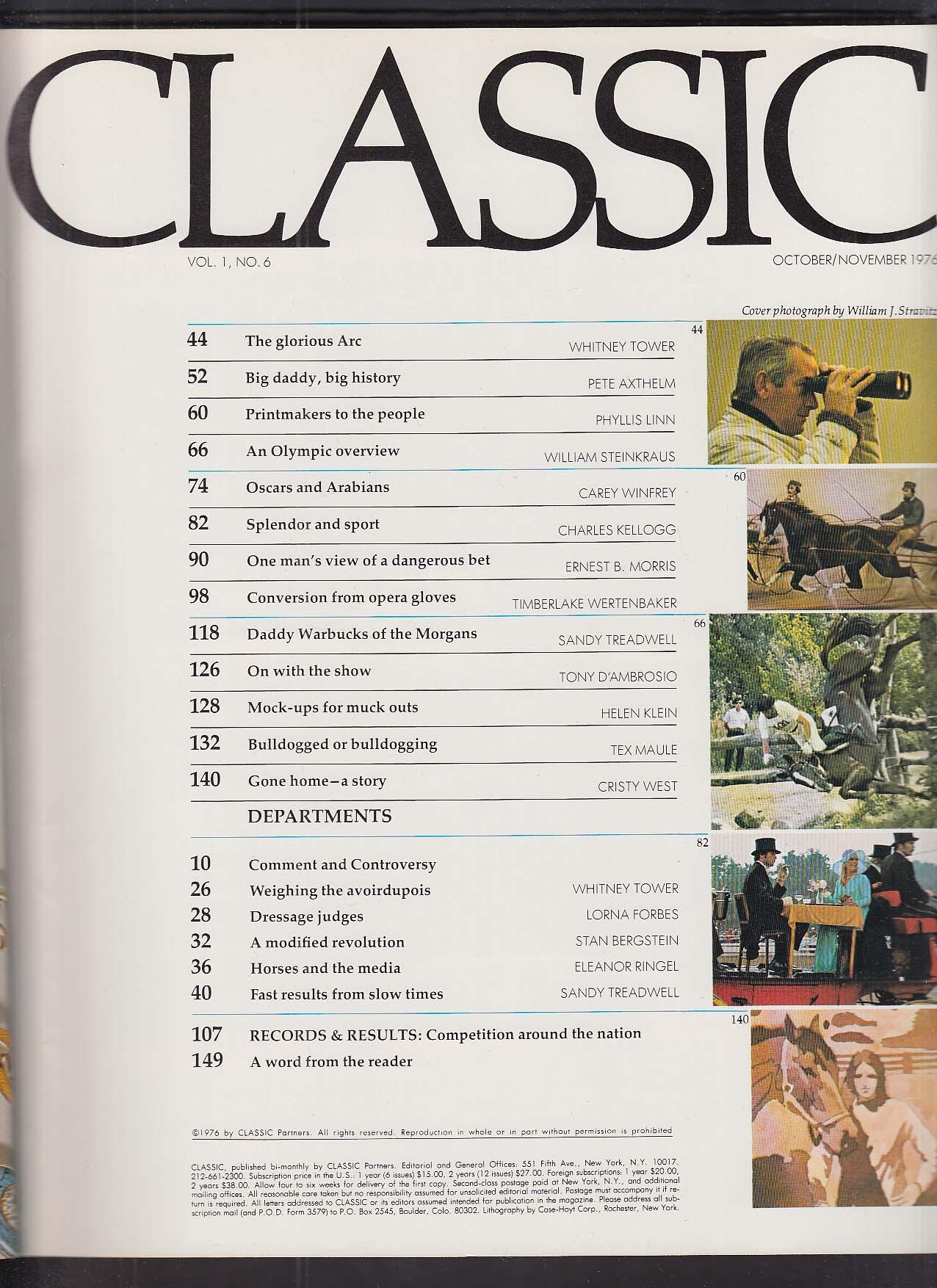 Image for CLASSIC Bromont The Arc Castleton Farm 10 1976