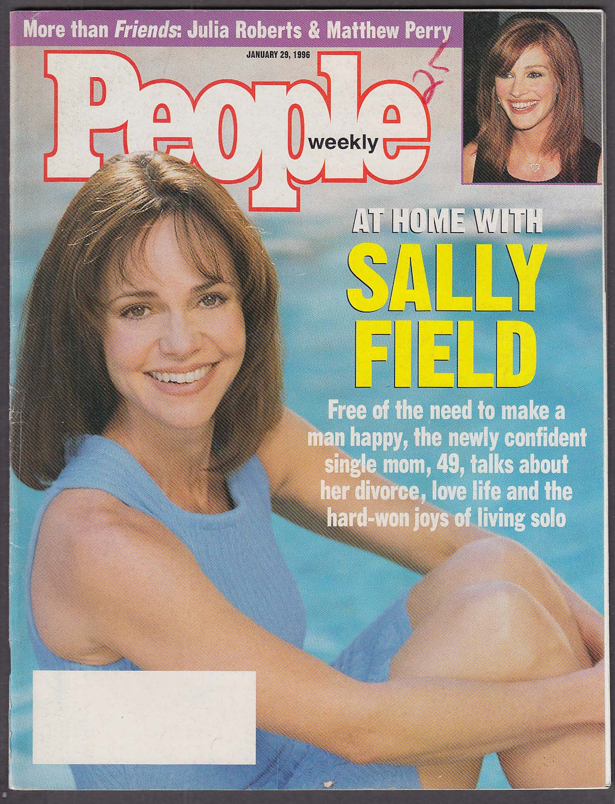 Image for PEOPLE Sally Field Julia Roberts Matthew Perry 1/29 1996