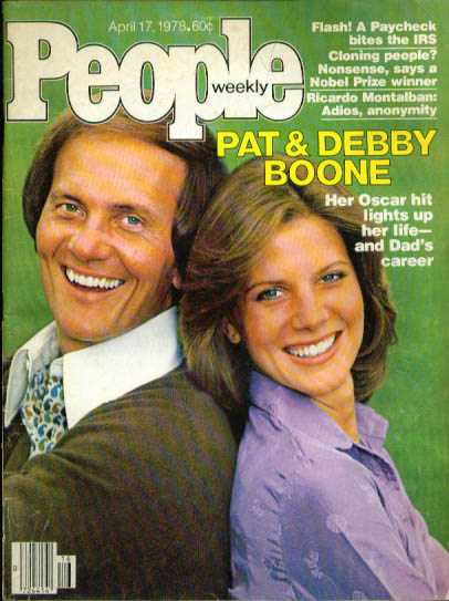 Image for PEOPLE Pat & Debby Boone Ricardo Montalban 4/17 1978