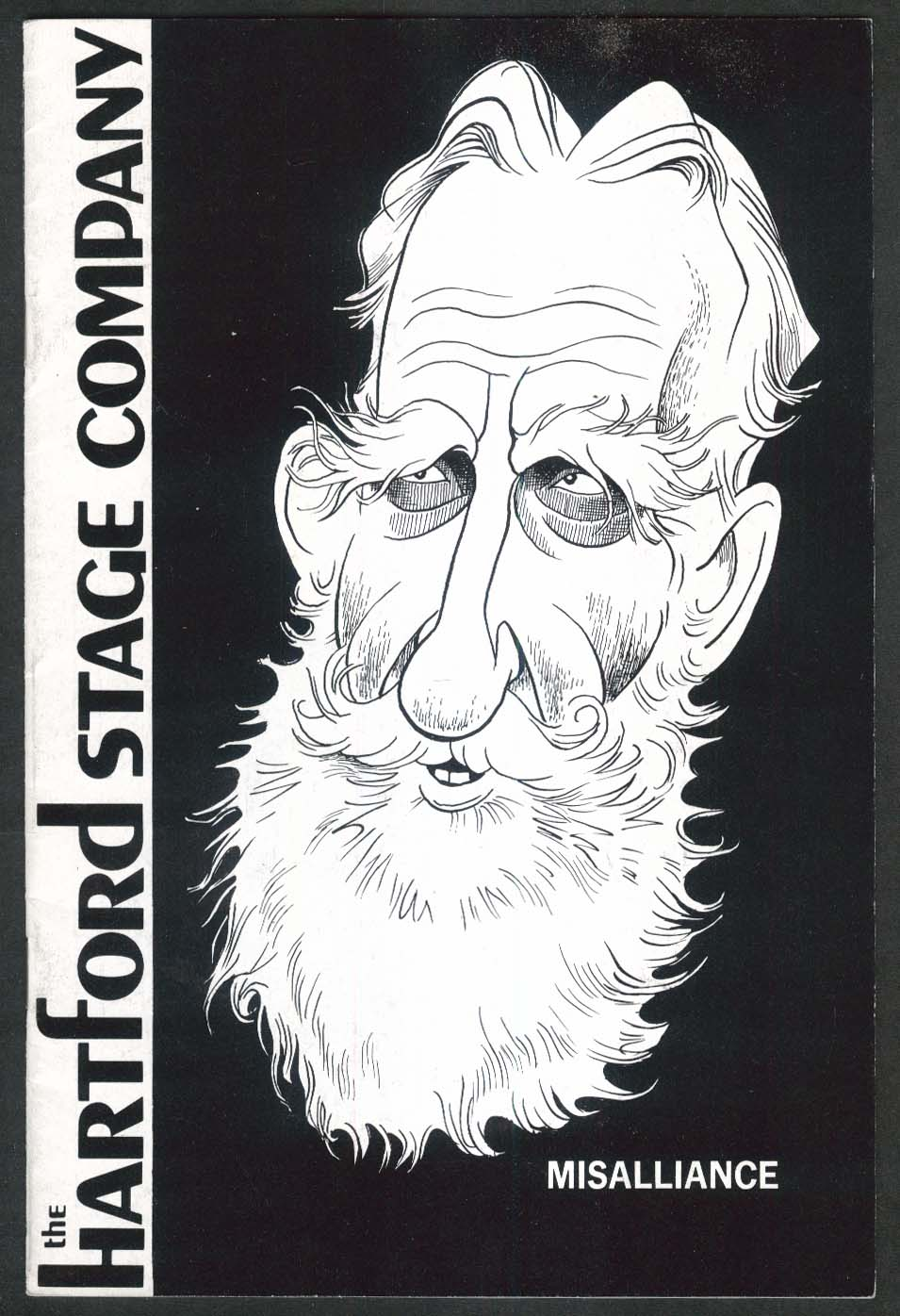 Katharine Houghton George Bernard Shaw Misalliance Hartford Stage program 1970