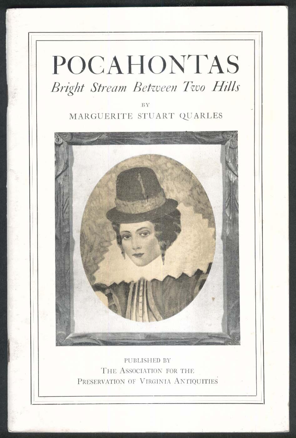 Marguerite Quarles: Pocahontas booklet 1967