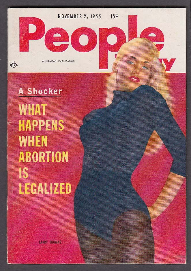 PEOPLE TODAY Brigitte Bardot Picasso Larri Thomas Joe Di Maggio + 11/2 1955