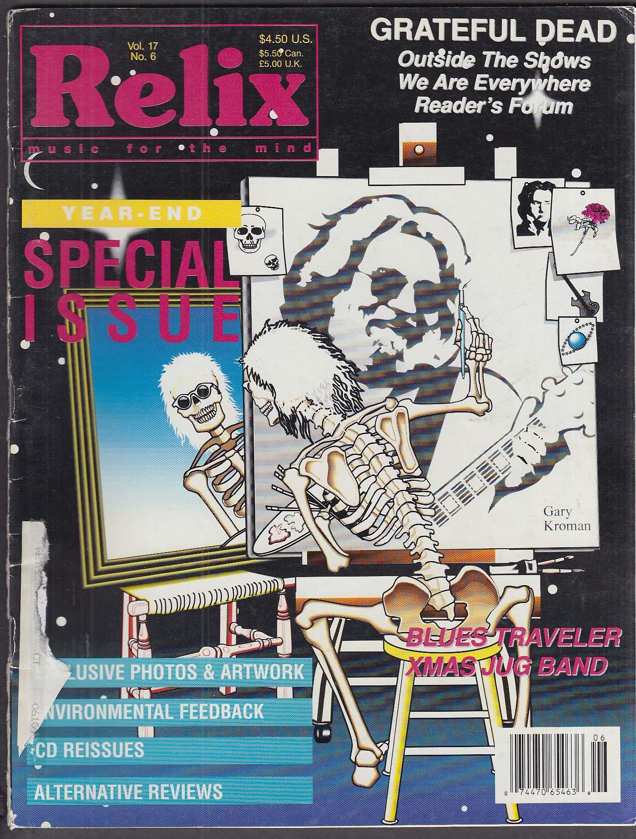 relix grateful dead blues traveler xmas jug band 12 1990 - Blues Traveler Christmas