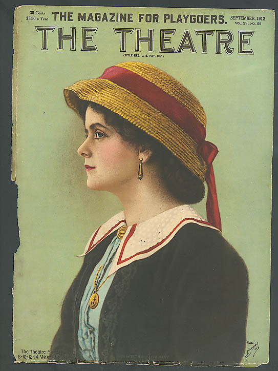 Image for Molly Pearson: The Theatre 9/1912 cover