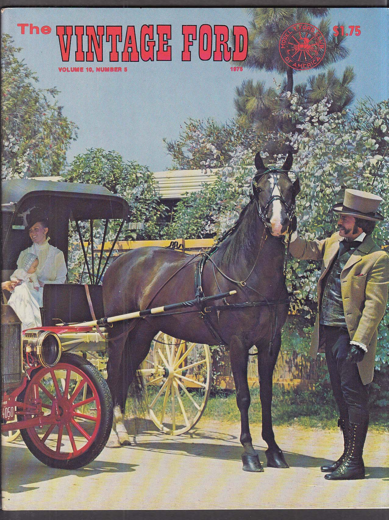 Vintage Ford Model T Club Magazine 9-10 1975