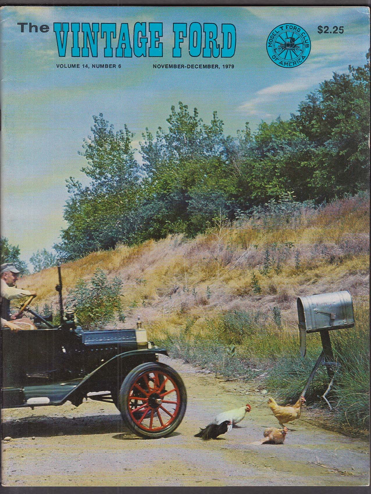 Vintage Ford Model T Club Magazine 11-12 1979
