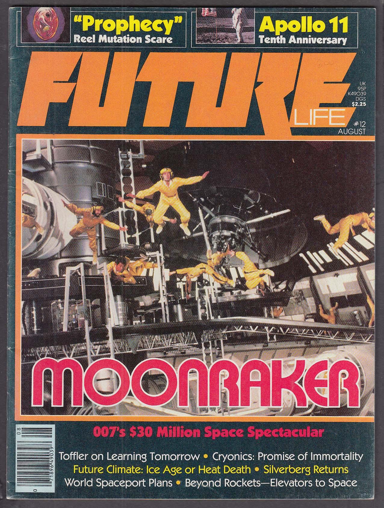 FUTURE LIFE #12 Moonraker Apollo Prophecy Alvin Toffler Robert Silverberg 8 1979