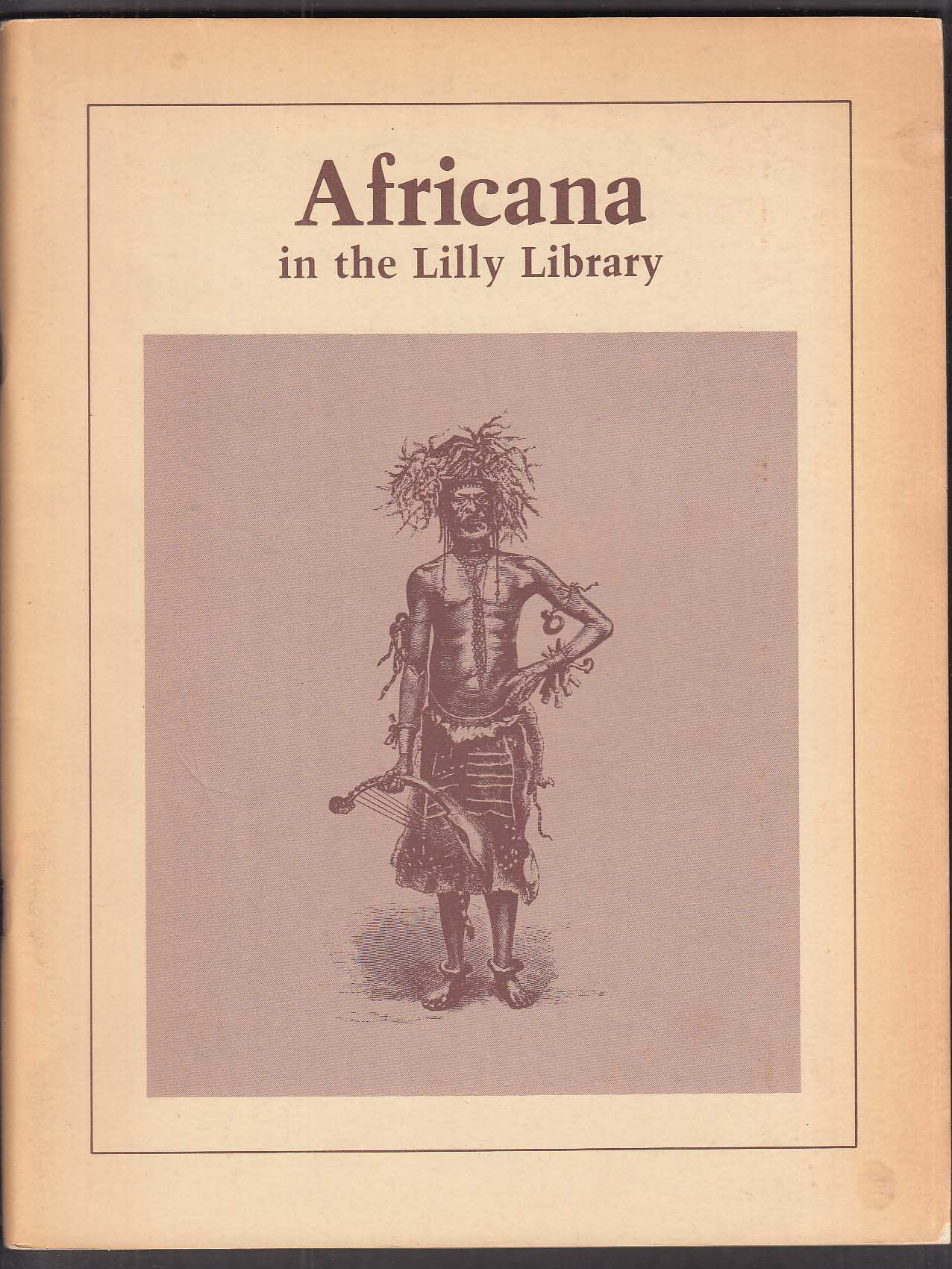 Africana - Lilly Library Indiana University exhibit catalog 1981