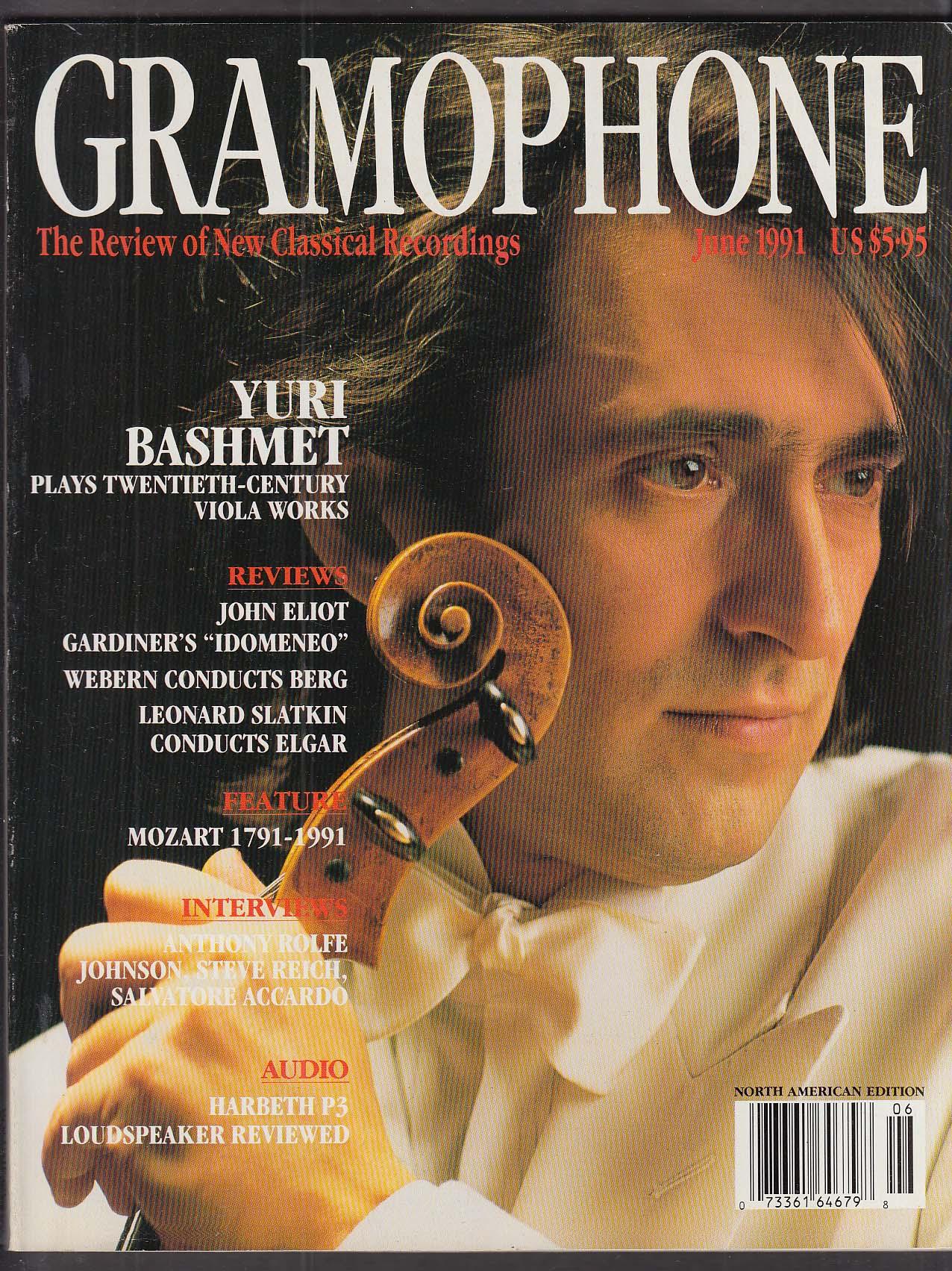GRAMOPHONE Yuri Bashmet Salvatore Accardo Rolfe Johnson Steve Reich ++ 6 1991