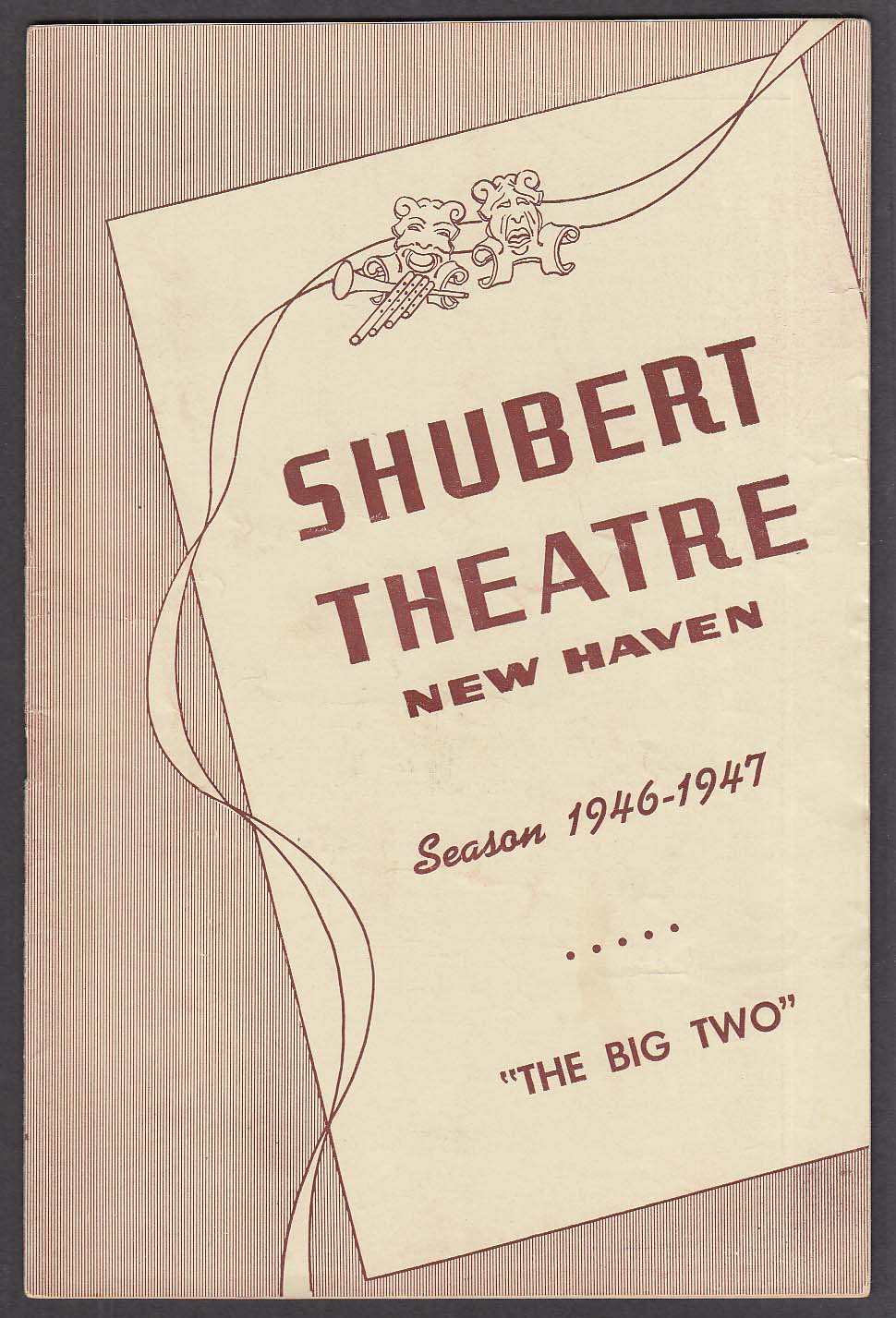 Claire Trevor The Big Two World Premiere Shubert program 1946