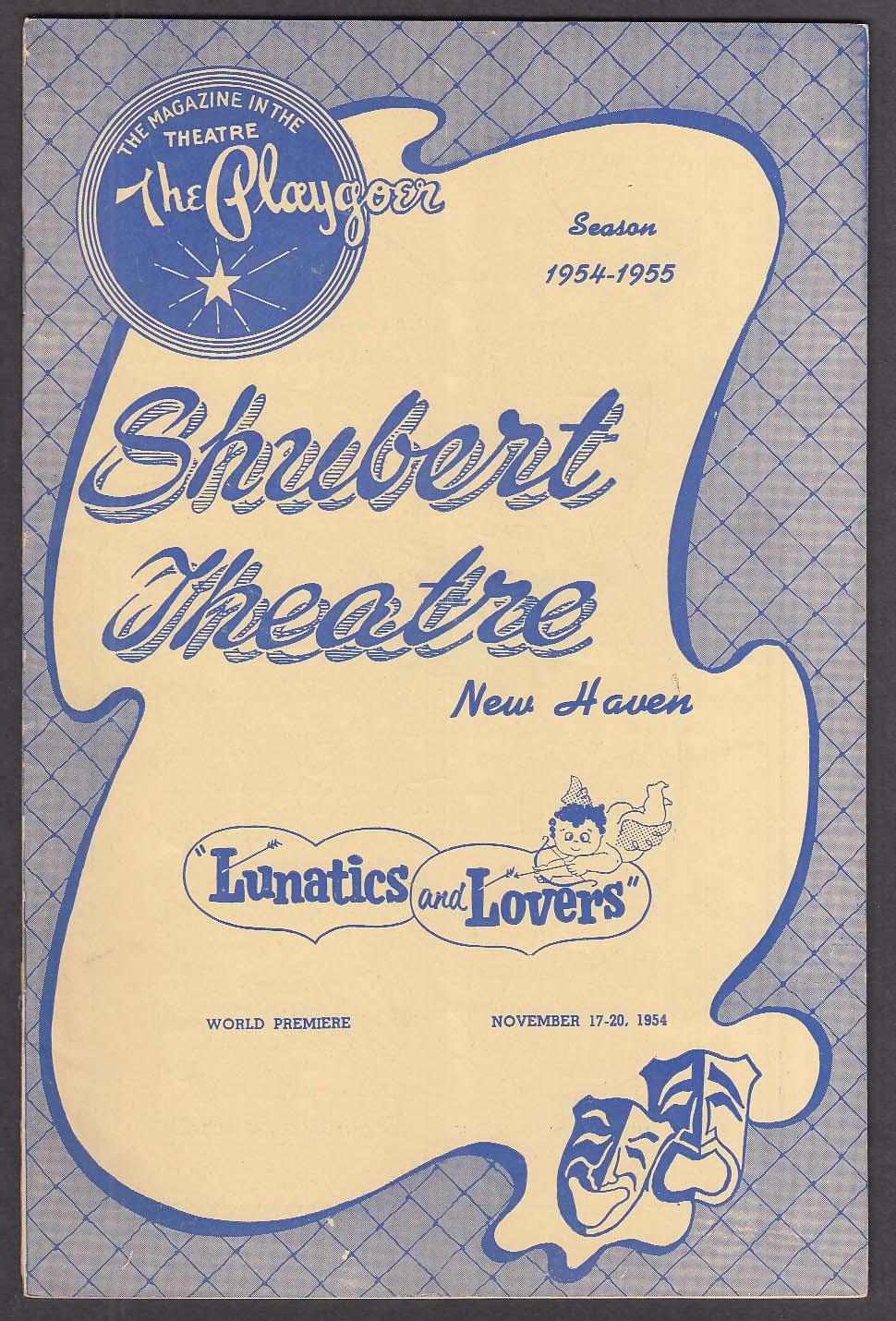 Buddy Hackett Lunatics & Lovers World Premiere Shubert Theatre program 1954