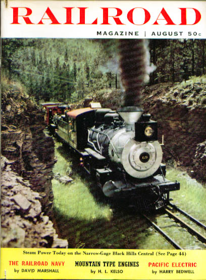 Image for RAILROAD Mountain-type engines Rosters of DC Shortlines Santa Fe Chicago 8 1959