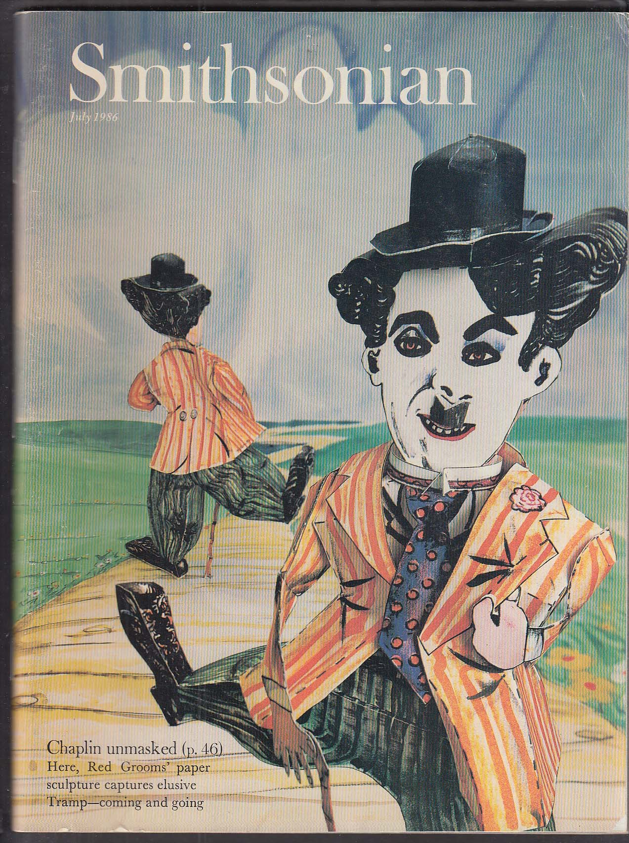 SMITHSONIAN Charlie Chaplin Peggy Guggenheim 7 1986