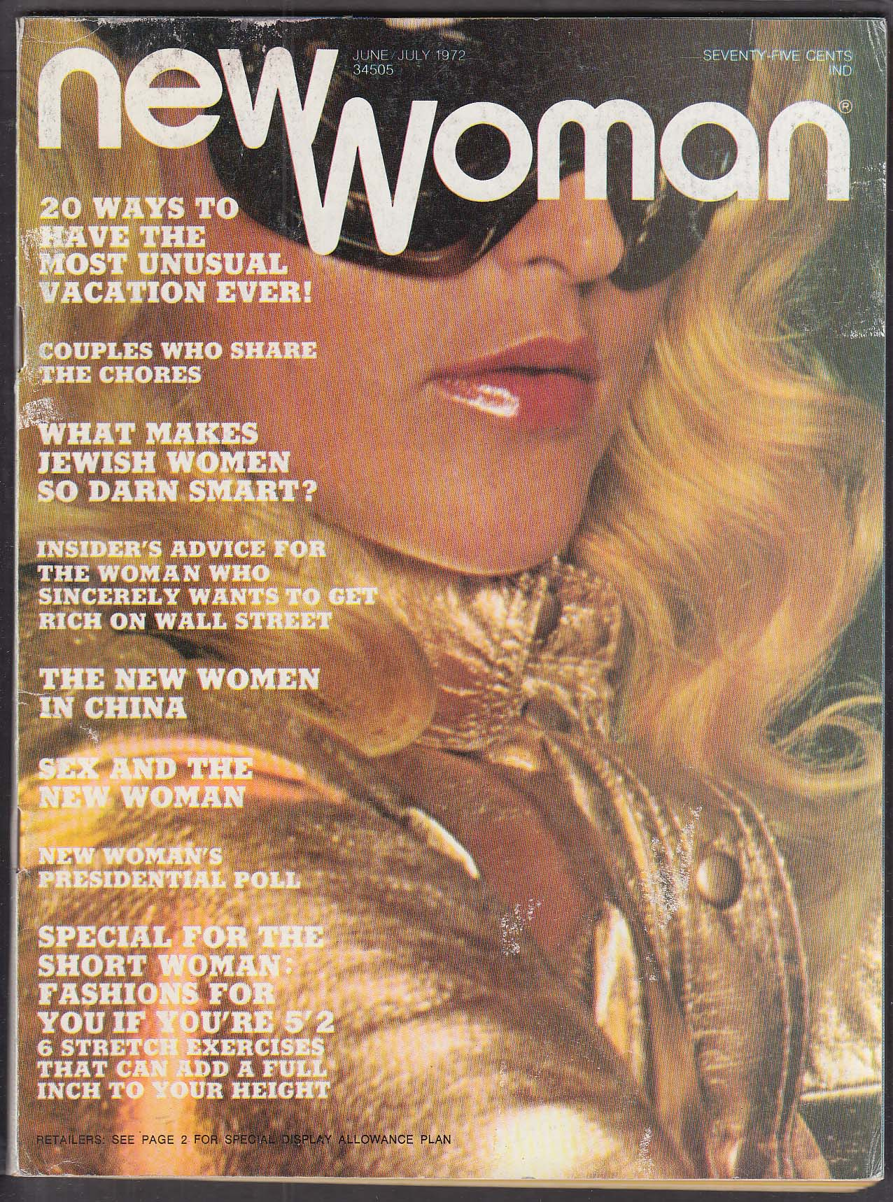 NEW WOMAN Women in China; Fashions for the Short 6 1972