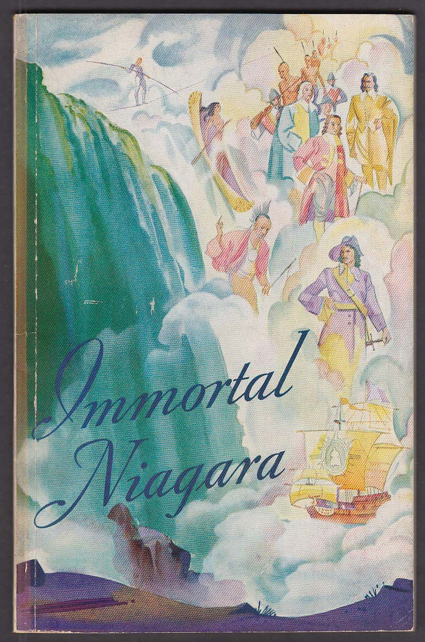 Complete Book Immortal Niagara Falls 1936 guide