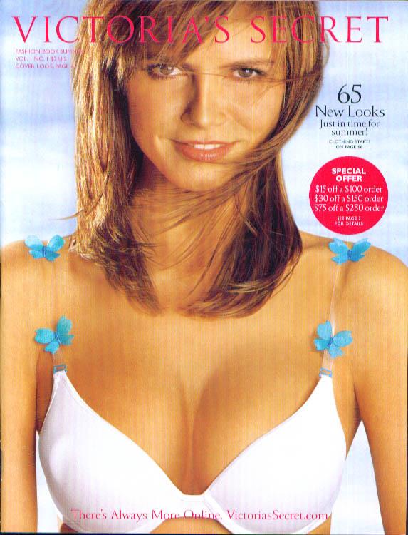 Victoria's Secret Lingerie Fashion Book Summer 2002