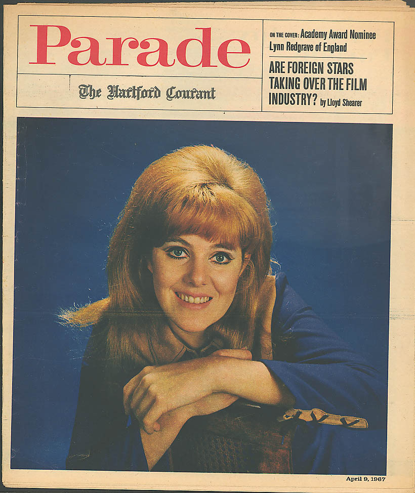 PARADE Hartford Courant Lynn Redgrave British Gambling 4/9 1967