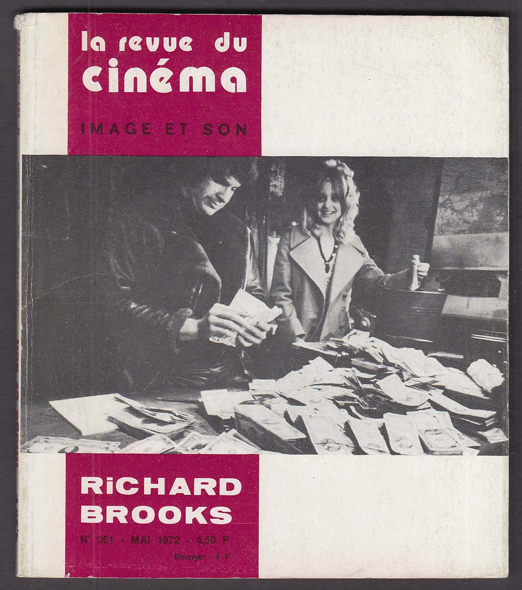 LA REVUE DU CINEMA Richard Brooks Goldie Hawn Warren Beatty $ Dollars 5 1972