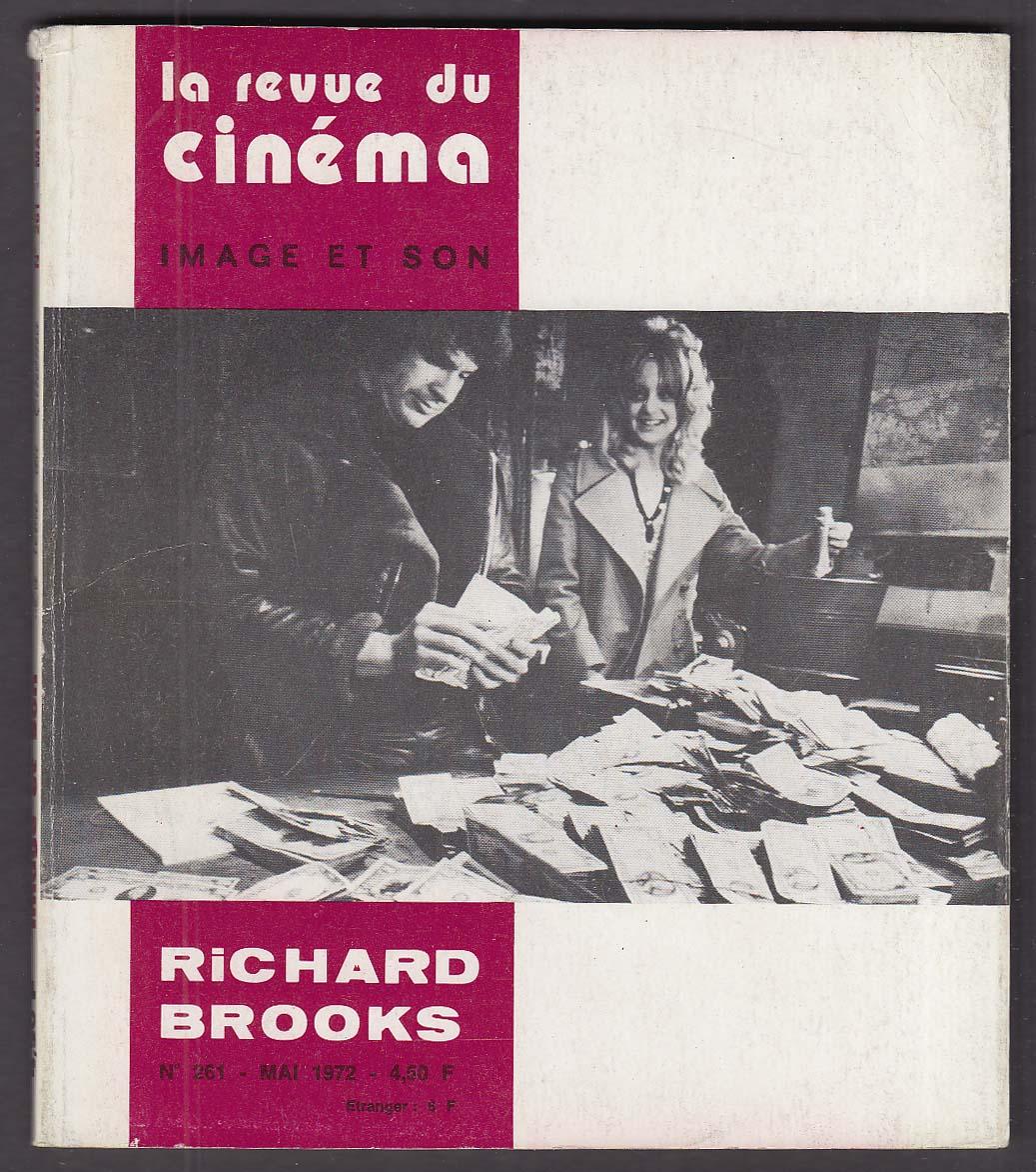 LA REVUE DU CINEMA Richard Brooks Goldie Hawn Warren Beatty $ Dollars 5 1972