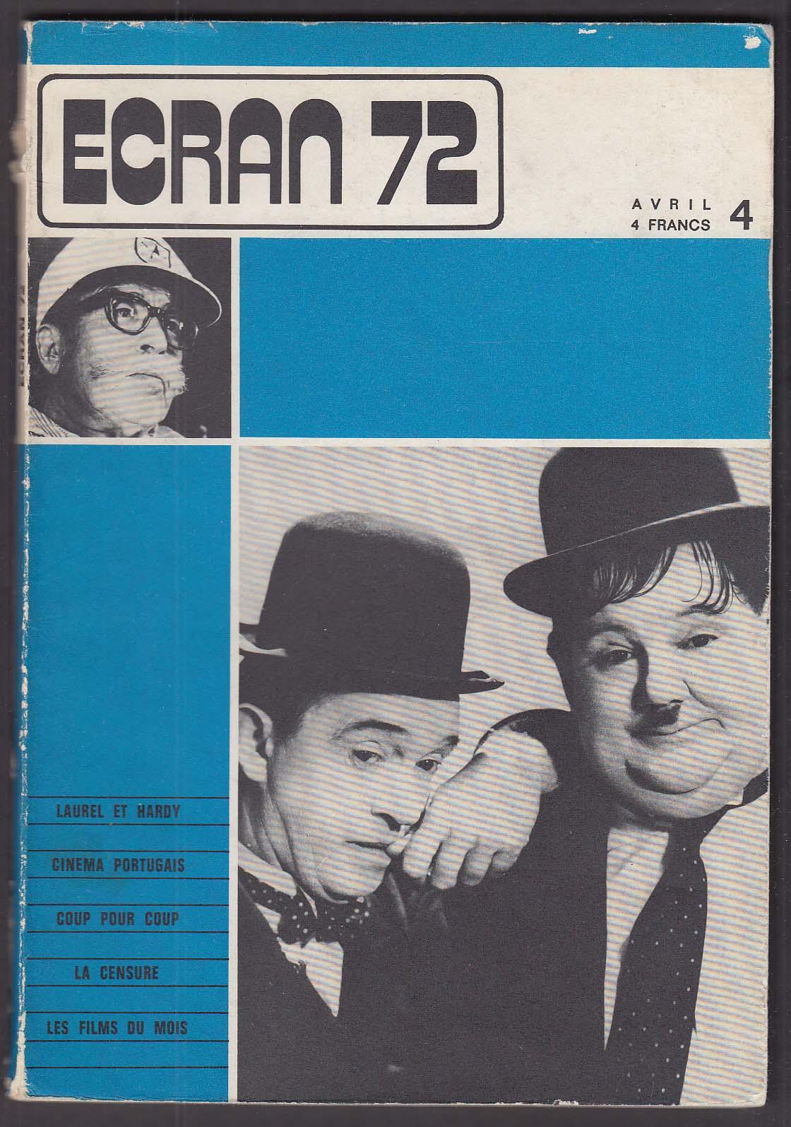 Image for ECRAN Laurel & Hardy Portuguese Cinema 4 1972