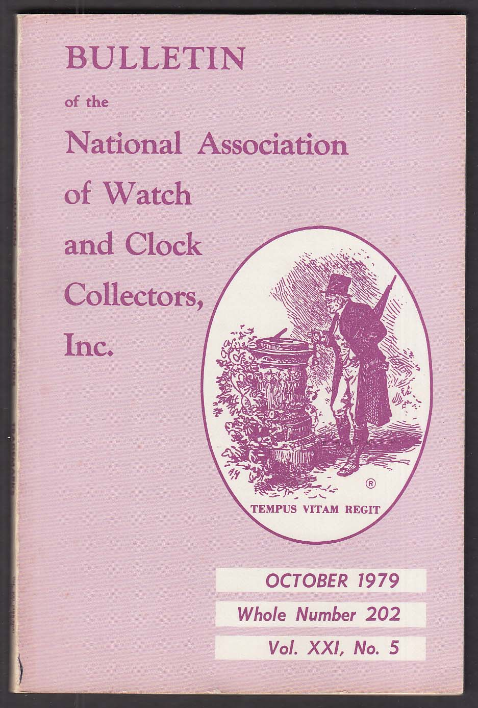 NAWCC Bulletin #202 Crow, Terry, Water Clock ++ 10 1979