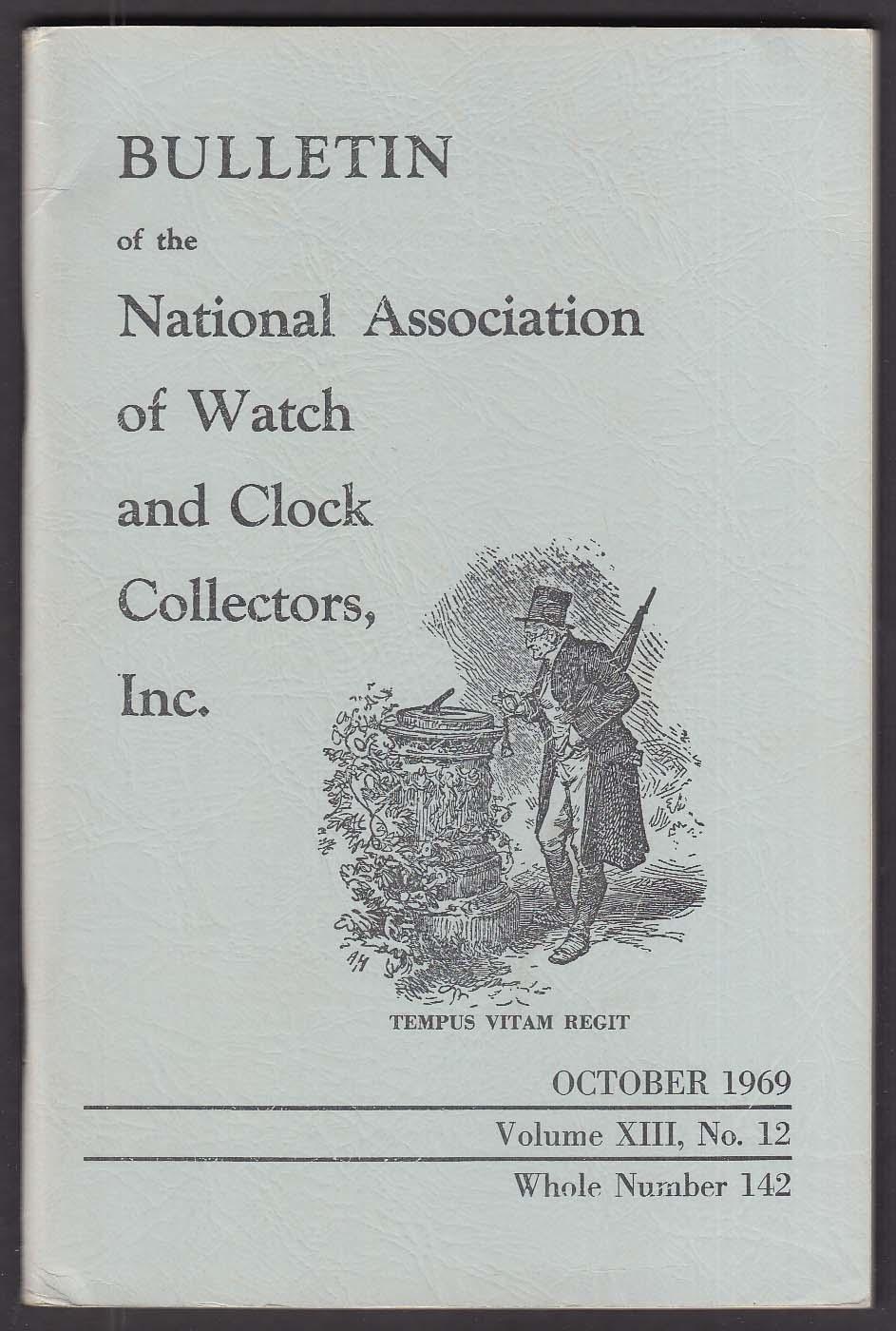 NAWCC Bulletin #142 Isaac Pease Wood Benj Banneker + 10 1969